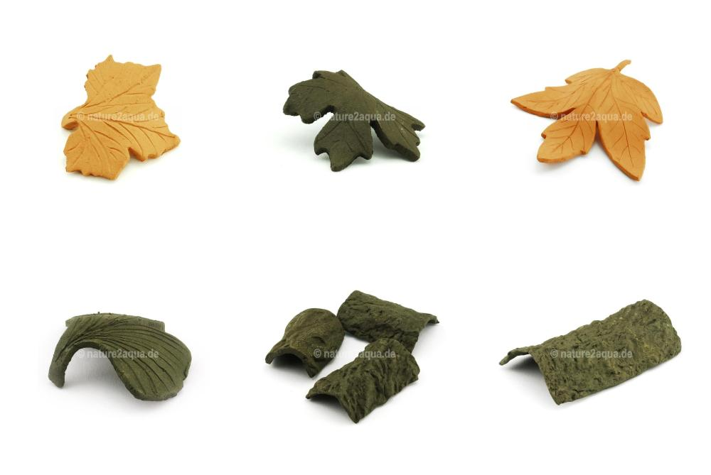 Blätter + Rinden - Dekoration + Versteck