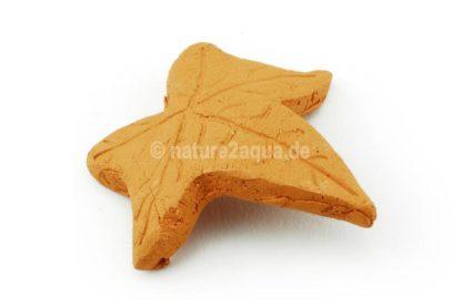 Ahornblatt Ton Nano terracotta