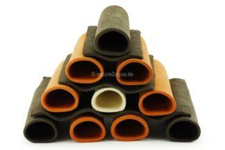 Stapelhilfen für Tonhöhlen