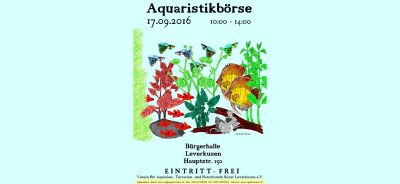 Aquaristika 2016-09-17 Leverkusen