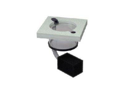 B&H Aufzuchtring quadratisch 100 mm mit Filter