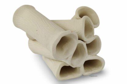 Röhrenstapel Röhrenturm 7 Röhren Garnelen Welse weiß
