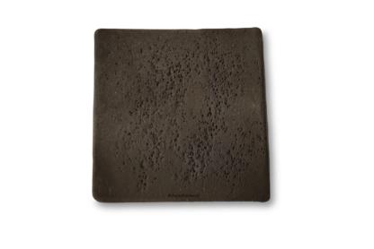 AquaKeramik Pflanzplatte 6cm quadratisch schwarz Aquarium