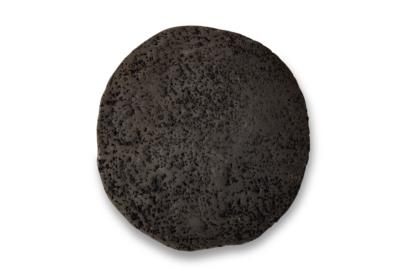 AquaKeramik Pflanzplatte rund schwarz 8cm Aquarium