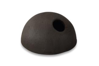 Mini Iglu-Höhle für kleine Apistogramma + Grundeln 6cm schwarz