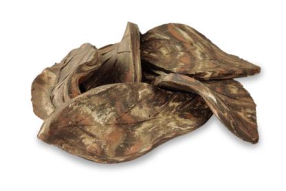 Aquakeramik 5er Set Dekoblätter aus Ton camouflage klein